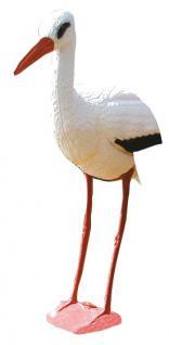 Storch aus Kunststoff Gartenfigur - Vorschau 1