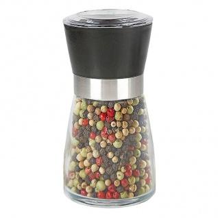 Gewürzmühle aus Glas Pfeffermühle Salzmühle Gewürzbehälter Salz-/Pfefferstreuer