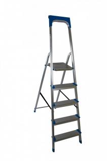 Aluminium-Klapptrittleiter Haushaltsleiter Sicherheitsleiter Stufenleiter Leiter