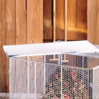 BRISTA Komposter-Zubehör 1124 Deckel Zu Silo 80x80cm