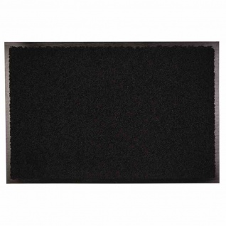Fußmatte Zanzibar schwarz 60x120cm Schmutzfangmatten Bodenmatten Fußabtreter TOP