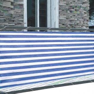 Balkonsichtschutz 5m Windschutz Balkonverkleidung Sichtschutzmatte Sichtschutz - Vorschau 4