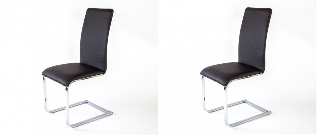 2x Schwingstuhl Esszimmerstuhl Küchenstuhl