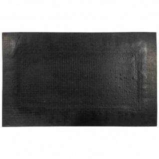 Gummifußmatte Blattwerk eckig 90x55cm Schmutzfangmatte Fußmatte Fußabtreter TOP