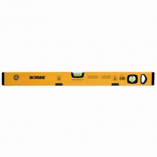 Magnet Alu-Wasserwaage 80cm, 2 Libellen, gelb beschichtet