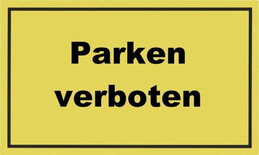 """METAFRANC SCHILD Kennzeichnungsschild ,, Parken verboten"""" 500400 Parken Verboten"""