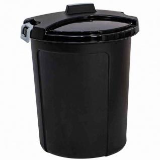Universaltonne 75l +Deckel Mülltonne Mülleimer Entsorgung Abfall Haushalt Tonne