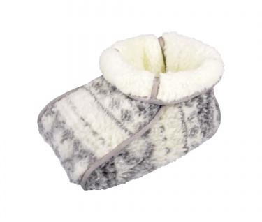 Lammflor Fußwärmer Fußsack Wärme Pantoffel Sohlenwärmer Handwärmer Wärmekissen