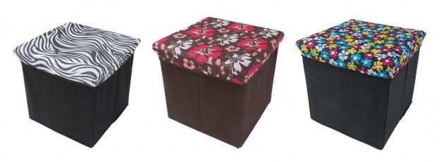 Wäschehocker Truhe Würfel Aufbewahrungsbox Badhocker Kinderzimmer Wäschebox