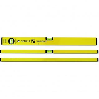 Serie 70 Wasserwaage 100cm gelb Alu Präzisionswasserwaage Messtechnik Heimwerker