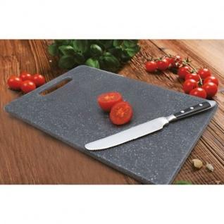 Schneidebrett Granit-Optik 30x20cm Frühstücksbrett Tranchierbrett Küchenbrett