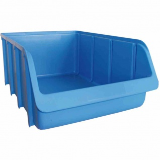 Sichtbox PP Gr 5 blau 495/460x315x185mm Stapelbox Lagerboxen Box Sichtlagerboxen