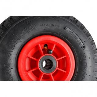 Ersatzreifen für Sackkarre Schubkarre Baukarre Bollerwagen Ersatzrad Reifen Rad - Vorschau 3