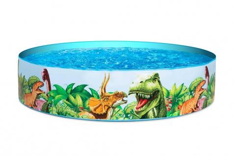 Bestway Planschbecken 183x38cm Dinosaurier Swimmingpool Schwimmbecken Kinder