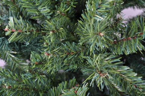 BURI® künstlicher Weihnachtsbaum 210cm Tannenbaum Christbaum Tanne Kunstbaum - Vorschau 2