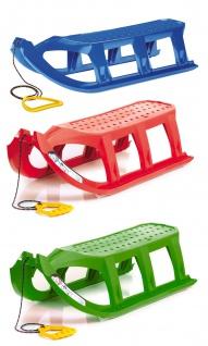 Prosperplast Kinderschlitten Ist Rodelschlitten Rennschlitten Bob Kunststoff