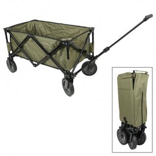 Faltbarer Bollerwagen Handwagen Transportwagen Strandwagen Gartenwagen Camping