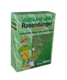 Grüner Jan Rasendünger für ca. 100m²