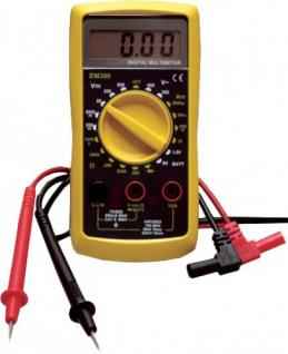 Uniqat DIGITAL-MULTIMETER Digitalmultimeter 70069 250v