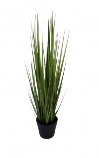 Künstliches Gras 90cm Dekogras Grashalm Kunstpflanze Zimmerpflanze Blumentopf