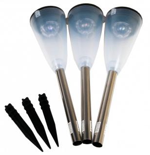LED Solarleuchte 2in1 3er Set - Vorschau 5