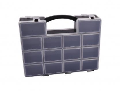 Organizer schwarz Sortierbox Sortimentskasten Sortierkasten Schraubenbox