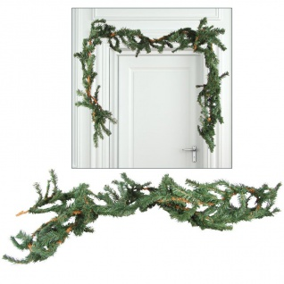 Tannengirlande Weihnachtsgirlande 5x 2, 7m Maibaum Weihnachtsdeko Türdekoration