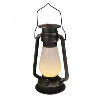 LED Sturmlaterne Petroleumlampe Campinglampe Handlampe Deko Laterne Gartendeko