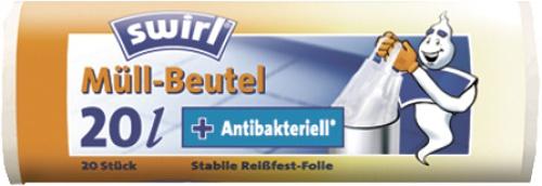 swirl MEL Müllbeutel 219742 Muellbtl. M.griff 20l