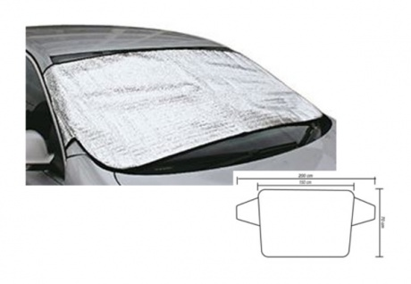 Thermo-Frontscheibenabdeckung Thermofolie für Windschutzscheibe Scheibenschutz