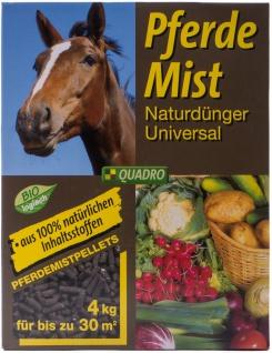Pferdemist 4kg pellettiert Naturdünger Dünger natürlich Garten bis ca. 30 m²
