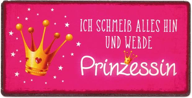"""la vida LAVI Magnet ,, Prinzessin"""" 3894351 Prinzes 10x5"""