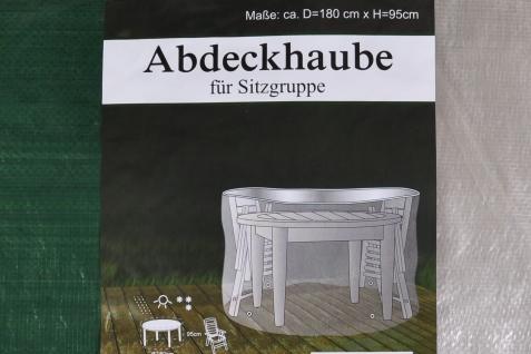 Abdeckhaube für Sitzgruppe Schutzhülle Abdeckplane Abdeckung Gartenmöbelschutz