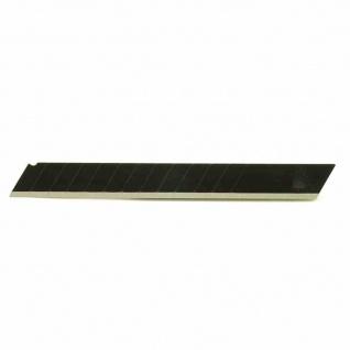 Abbrechklingen 9mm 10er im Spender schwarz Klingen Werkzeug Messer Schneiden