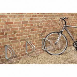 Fahrradhalter 1-Platz für Wandmontage