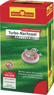 Wolf WOLF Garten Turbo-Nachsaat Schattenrasen 3826610 Sch.rasen Lr-s10