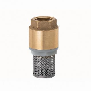 """Messing Fußventil System York 25mm (1"""")Innengewinde"""