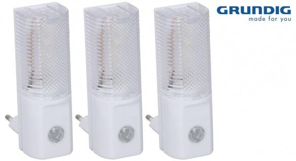 LED-Nachtlichter 3er-Set Nachtlicht Nachtlampe Notlicht Steckdose Baby Kinder