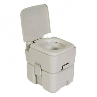 "Tragbare Camping-Toilette "" Double flush 20"""