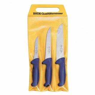 Messer-Set 3tlg Ergo Grip Ausbeinmesser Stechmesser Blockmesser Küche Haushalt