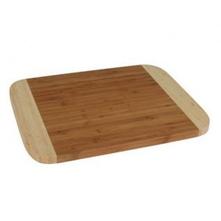 Bambus Schneidebrett Frühstücksbrett Tranchierbrett Bambusbrett Stullenbrett neu - Vorschau