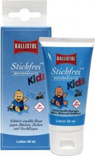 """BALLISTOL Mückenschutz für Kinder ,, Stichfrei Kids"""" 26819 Stichfrei Kids Lotion 30ml"""