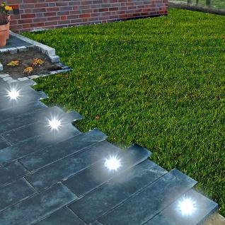 LED Solar-Bodeneinbauleuchte Bodenstrahler Bodeneinbaustrahler Solarlampen Licht - Vorschau 5
