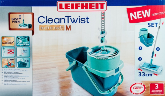 "LEIFH ,, Clean Twist""-Set 52014 Clean Twis T System 33cm"