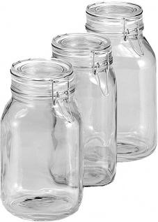 """BGL.VERSCHLUSSGLAS Bügelverschlussglas ,, FIDO"""" 119988 Fido 2.0l"""