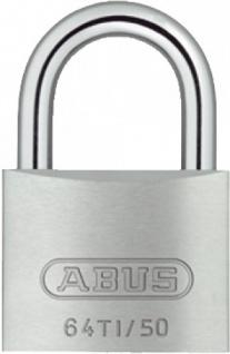 """ABUS TITALIUM(TM)-Serie ,, 64TI"""" 77086 Hangschloss Titalium 64ti/50 Mm"""
