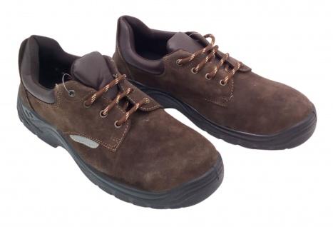 Sicherheitsschuhe Arbeitsschuhe Schutzschuhe Halbschuhe Stiefel Leder Stahlkappe - Vorschau 3