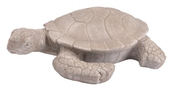 Deko Schildkröte 51cm Gartendeko Gartenfigur Teichfigur Landschildkröte Tierdeko - Vorschau 4