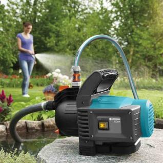 Gartenpumpe 3500/4 Set Bewässerung auspumpen Pumpe Gartenteich Terrasse Teich