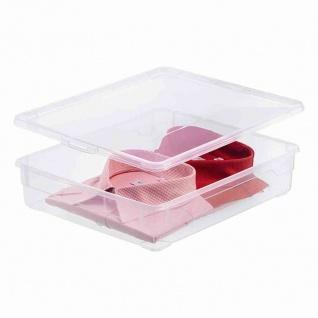 "Aufbewahrungsbox "" Clear Box"" 18 l mit Deckel, 40 x 33, 5 x 17 cm"